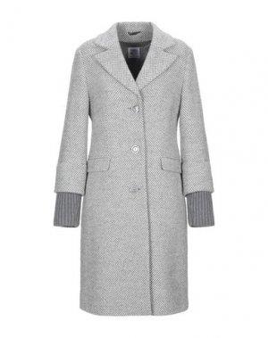 Пальто CINZIA ROCCA. Цвет: серый