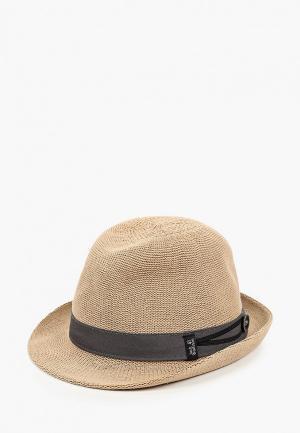 Шляпа Jack Wolfskin TRAVEL HAT. Цвет: бежевый