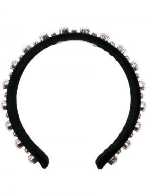 Ободок для волос с декором Ca&Lou. Цвет: черный