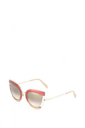 Солнечные очки Emilio Pucci. Цвет: бежевый