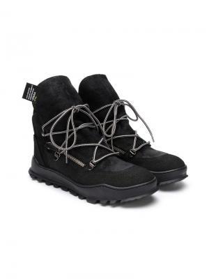 Ботинки Tyson Cinzia Araia Kids. Цвет: черный