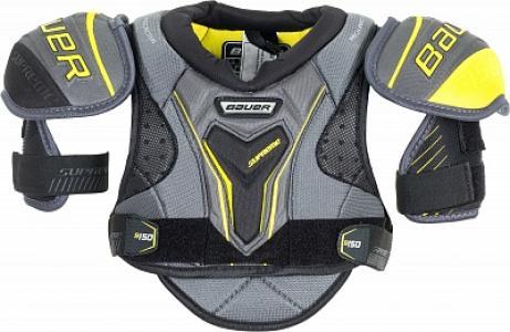 Защита торса детская S17 Supreme S150 Bauer. Цвет: черный