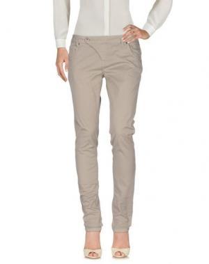 Повседневные брюки FRESH MADE. Цвет: серый