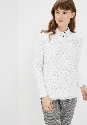 Пуловер Conso Wear. Цвет: белый