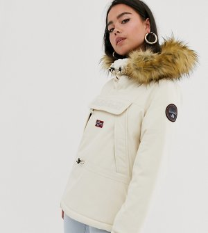 Куртка кремового цвета Napapijri