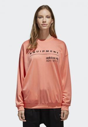 Свитшот adidas Originals EQT SWEATSHIRT. Цвет: розовый