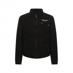 Хлопковая куртка 1903 Harley-Davidson. Цвет: чёрный