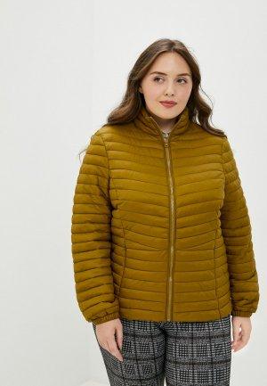 Куртка утепленная Junarose. Цвет: хаки