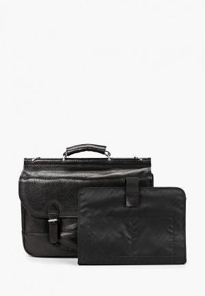 Портфель Dr.Koffer MP002XU0E90H. Цвет: черный