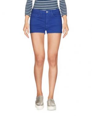 Джинсовые шорты CYCLE. Цвет: синий