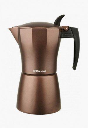 Кофеварка Rondell Kortado. Цвет: коричневый