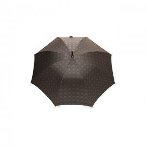 Зонт-трость Pasotti Ombrelli. Цвет: коричневый