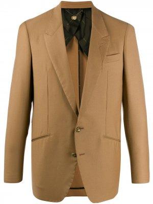 Строгий пиджак Saddam Maurizio Miri. Цвет: нейтральные цвета