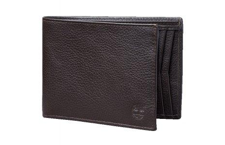 Кошельки Large Man Wallet Bifold Timberland. Цвет: темно-коричневый