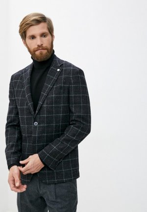 Пиджак Henderson. Цвет: серый
