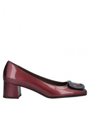 Туфли CALPIERRE. Цвет: кирпично-красный