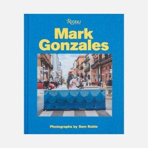 Книга Mark Gonzales: Adventures In Street Skating Rizzoli. Цвет: голубой