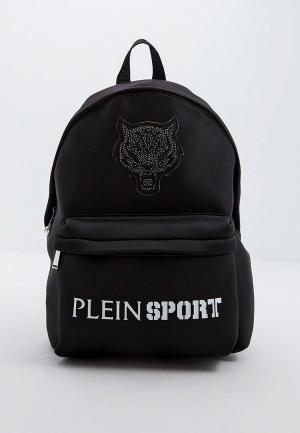 Рюкзак Plein Sport. Цвет: черный