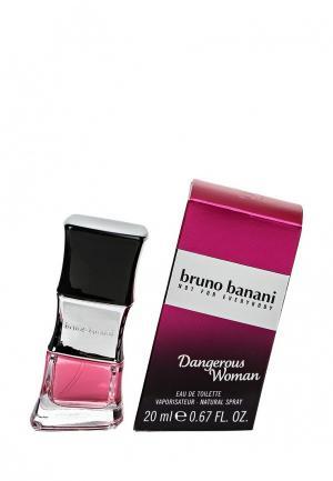 Туалетная вода Bruno Banani Dangerous Woman, 20 мл. Цвет: прозрачный