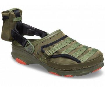 Сабо мужские CROCS BEAMS X Classic All-Terrain Military Clog Army Green арт. 207448. Цвет: army green