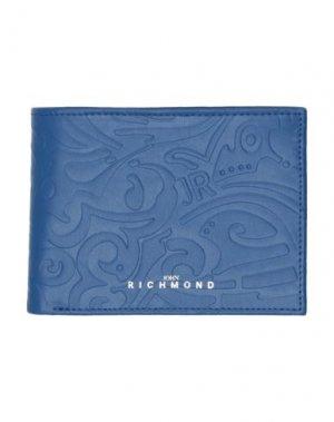 Бумажник JOHN RICHMOND. Цвет: синий