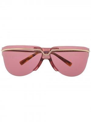 Солнцезащитные очки-авиаторы Givenchy Eyewear. Цвет: золотистый