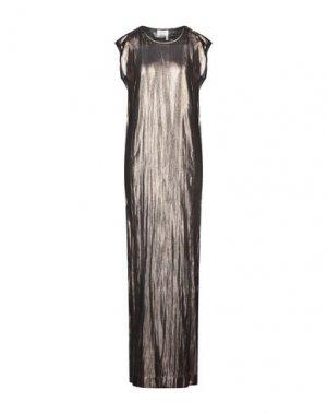 Длинное платье LANVIN. Цвет: золотистый