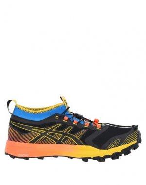 Кеды и кроссовки ASICS. Цвет: черный