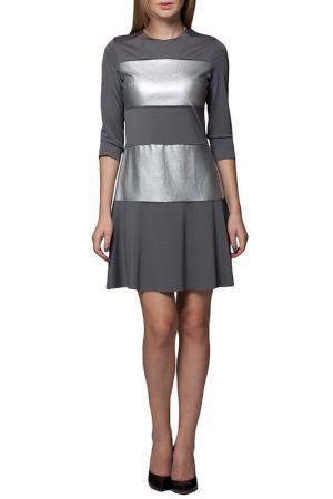 Платье JOELLE YOUNG JO'ELLE. Цвет: grey and silver