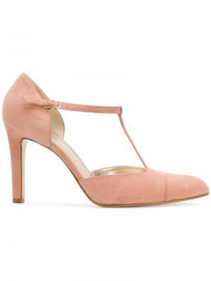 Туфли с ремешком Antonio Barbato. Цвет: розовый