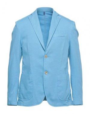 Пиджак HARMONT&BLAINE. Цвет: небесно-голубой