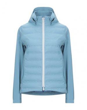 Куртка PEOPLE OF SHIBUYA. Цвет: небесно-голубой