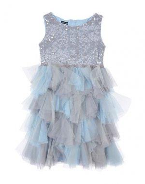 Платье KATE MACK. Цвет: серый
