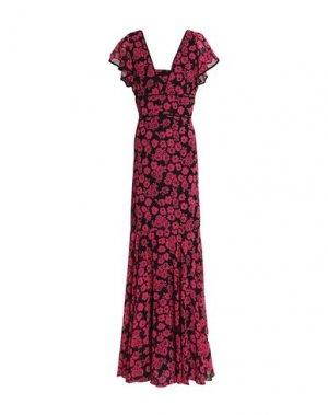 Длинное платье MILLY. Цвет: розовый
