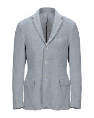 Пиджак 120%. Цвет: серый