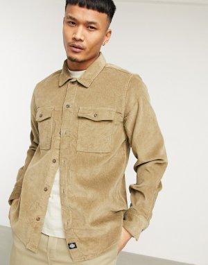 Светло-коричневая рубашка Fort-Зеленый цвет Dickies