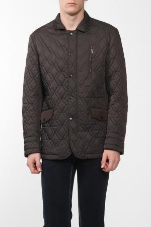 Куртка CUDGI. Цвет: коричневый