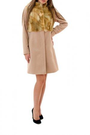Coat RADEKS. Цвет: beige