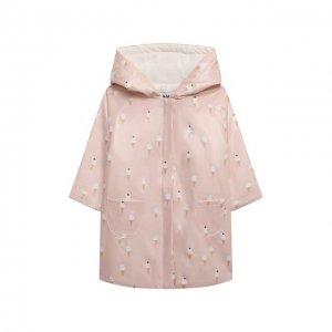 Плащ Les Lutins Paris. Цвет: розовый