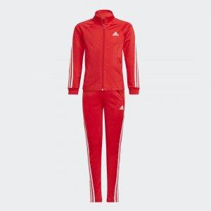 Спортивный костюм Team Regular 3-Stripes Sportswear adidas. Цвет: красный
