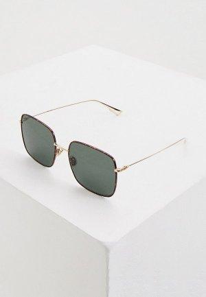 Очки солнцезащитные Christian Dior STELLAIRE1XS 06J. Цвет: золотой