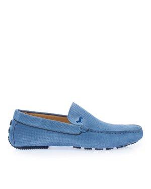 Мокасины EFM201210 41 голубой Harmont & Blaine. Цвет: голубой