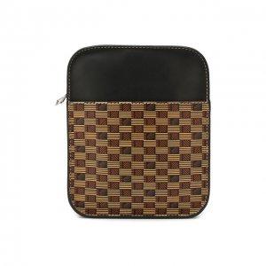 Кожаная сумка-планшет Moreau. Цвет: коричневый