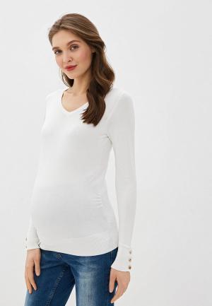 Пуловер Dorothy Perkins Maternity. Цвет: белый