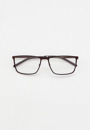 Очки солнцезащитные Tommy Hilfiger TH 1803/CS VZH, оправа и солнцезащитная линза. Цвет: коричневый