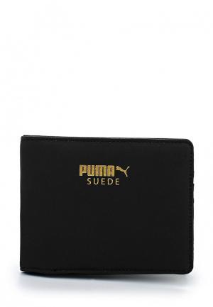 Кошелек Puma Suede Billfold Wallet. Цвет: черный