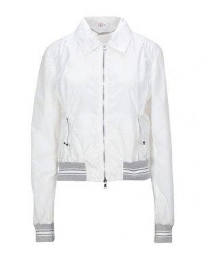 Куртка VDP SPORT. Цвет: белый