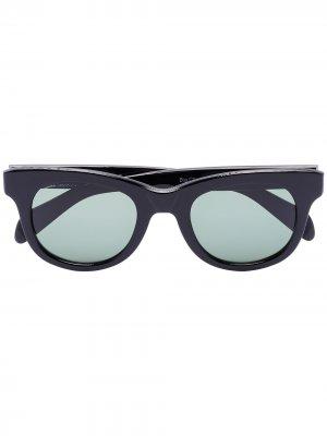 Солнцезащитные очки-авиаторы Black visvim. Цвет: черный