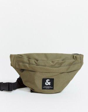 Сумка-кошелек на пояс -Зеленый цвет Jack & Jones