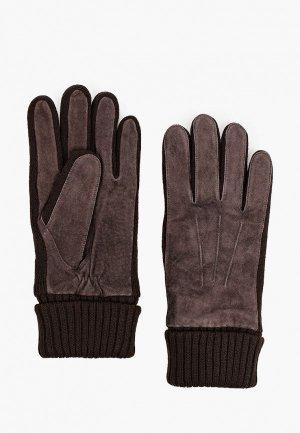 Перчатки Onigloves. Цвет: коричневый